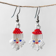 Pearl White Santa Beaded Earringsts_santaearring_pearl_small_4